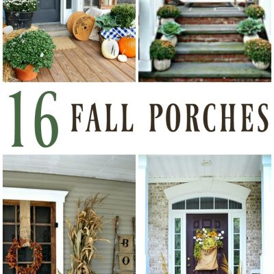 16 Inspiring Fall Porch Decorating Ideas