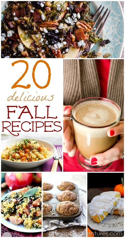 20 Amazing Fall Recipes