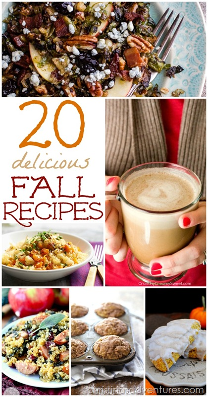 20 delicious fall recipes