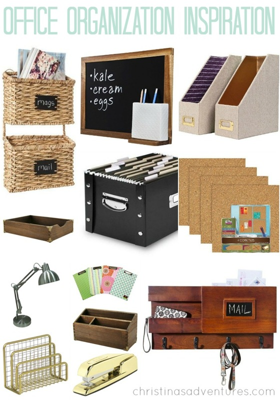 office organization inspiration {& target giveaway} - christinas
