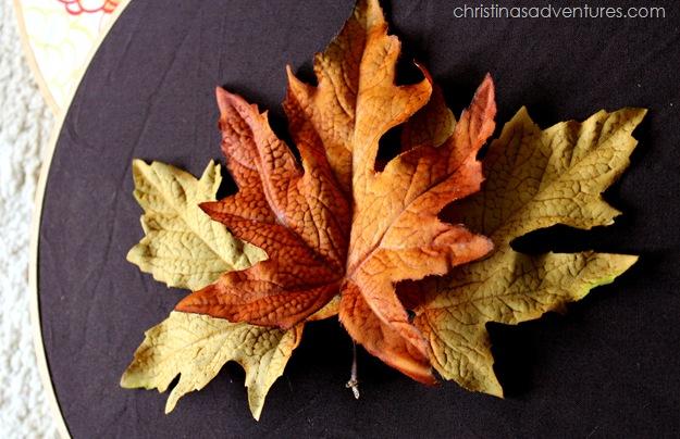 fall door decoration tutorial 3