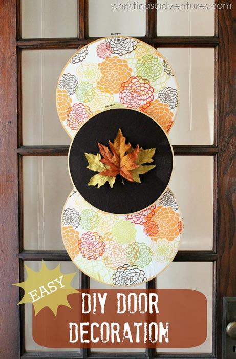 fall door decoration