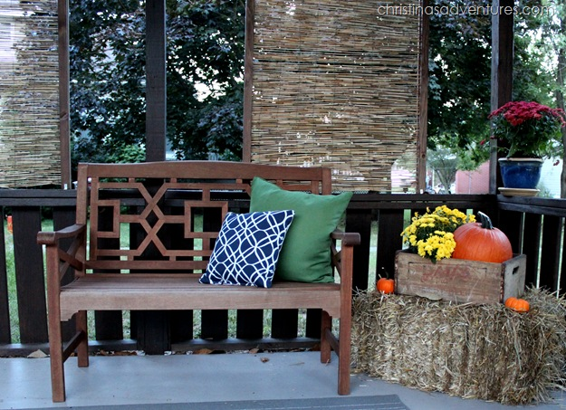 gorgeous outdoor bench