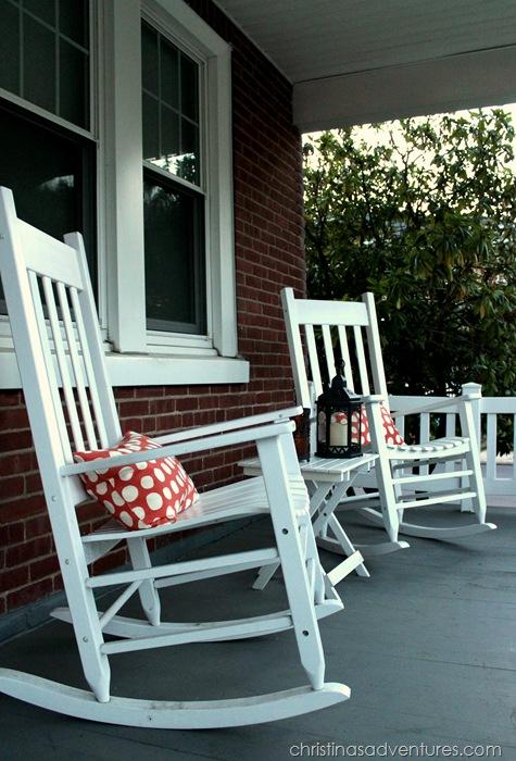 simple front porch