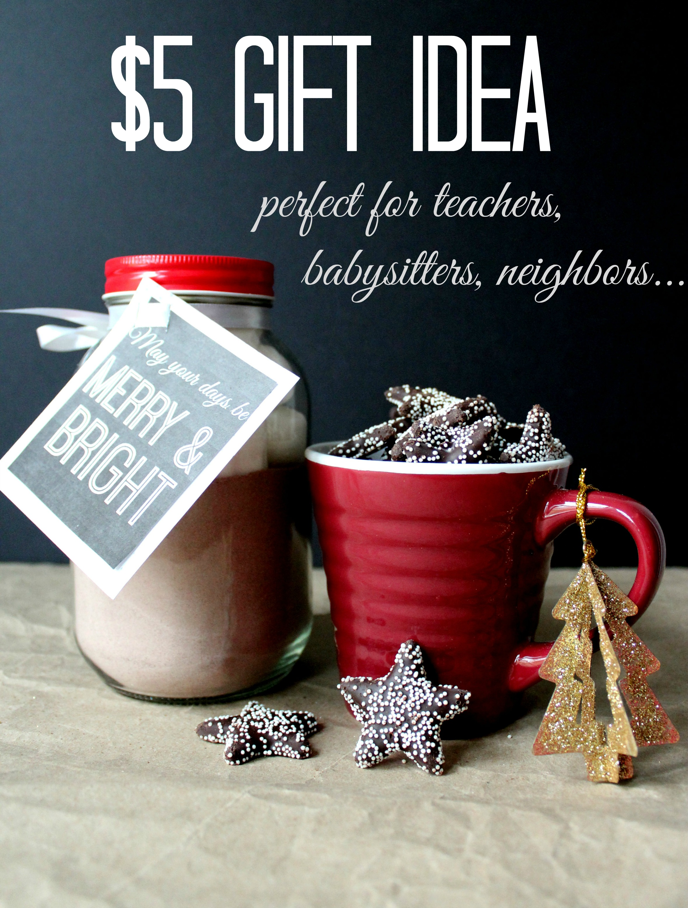 Simple Holiday: $5 gift idea