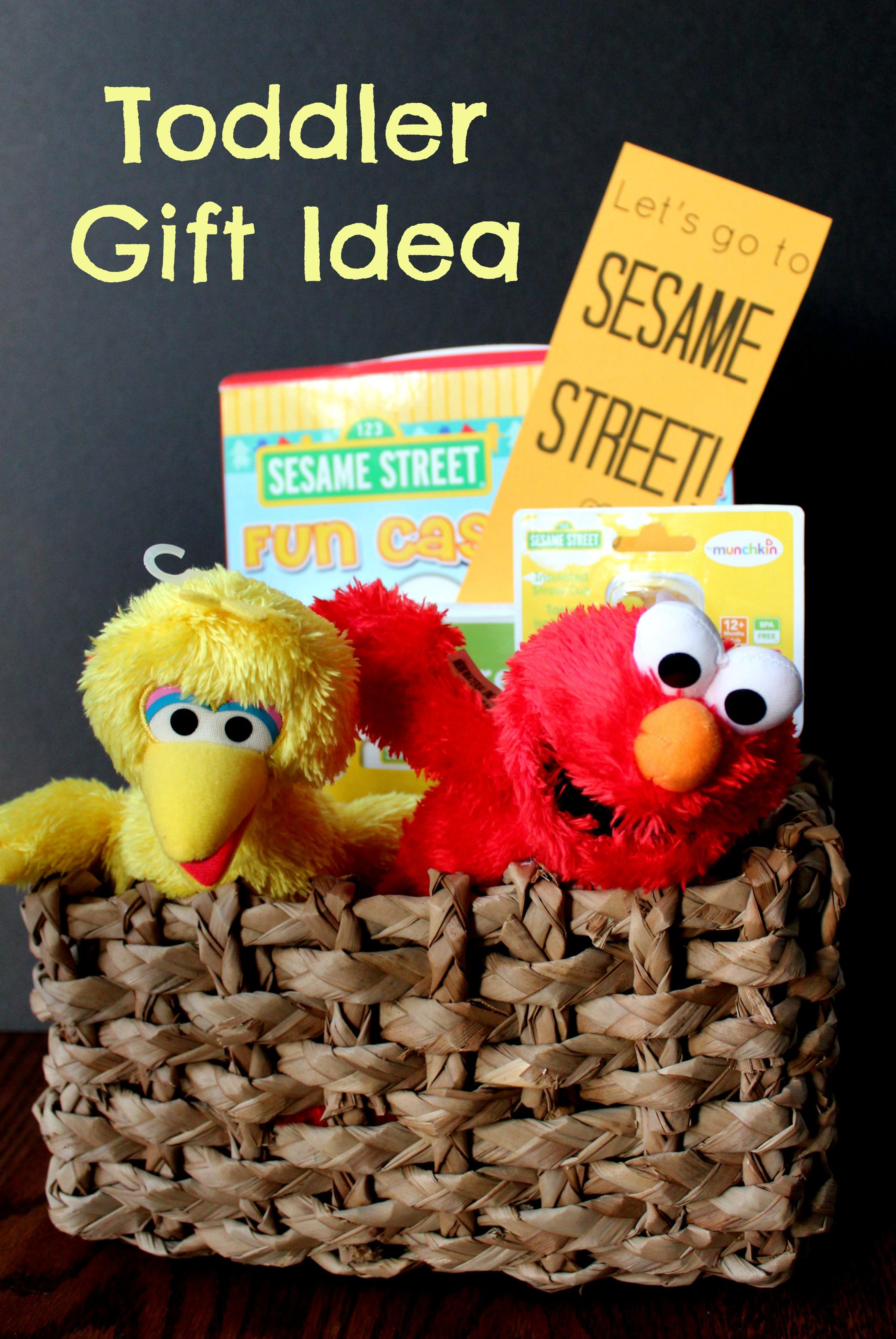Toddler Gift Idea: Sesame Street Themed
