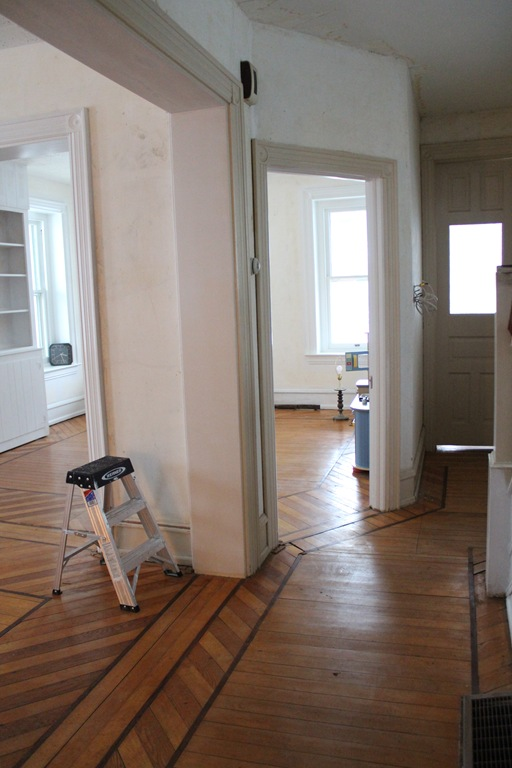 House Update Month 2 Wood Floors Painting Trim