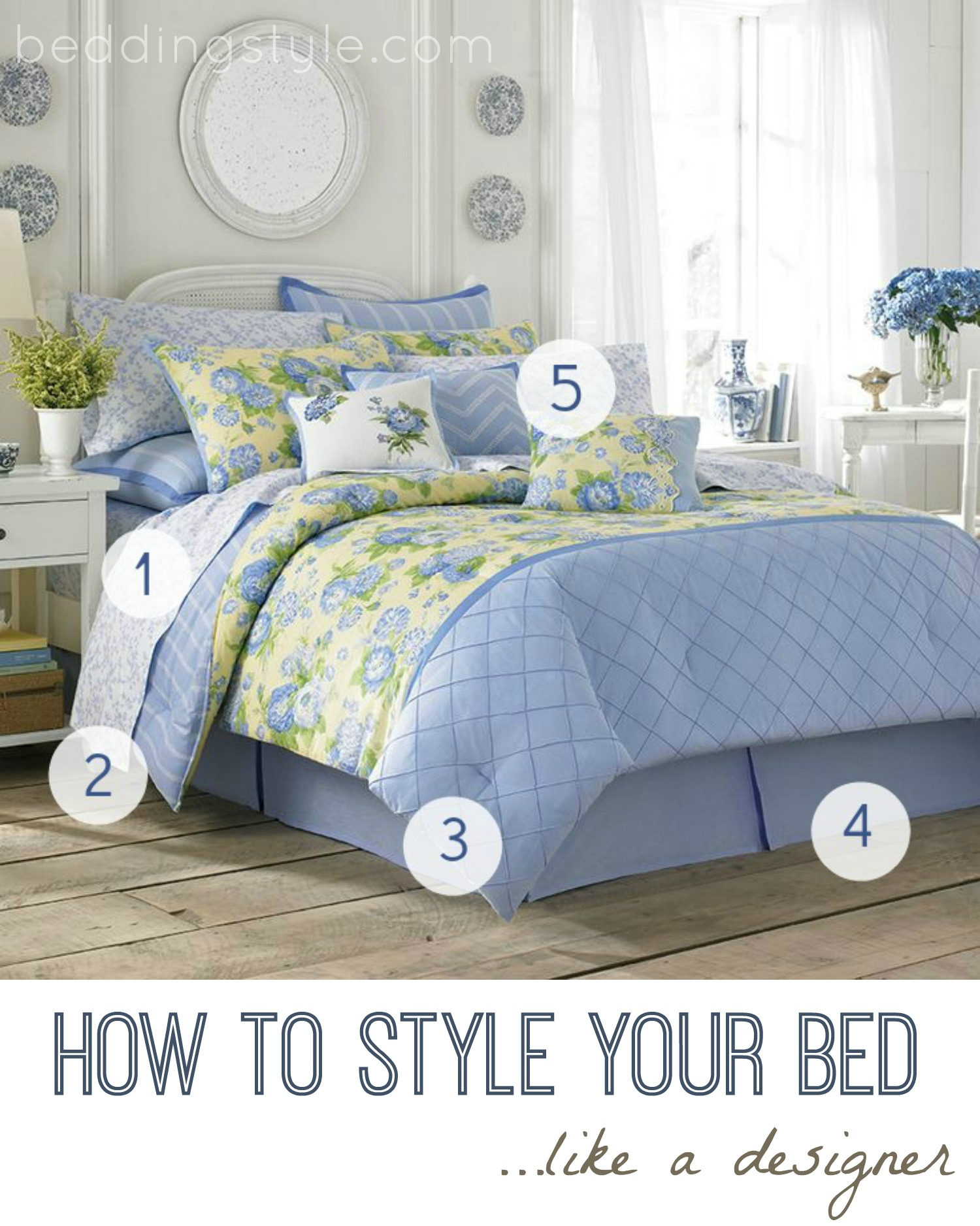 how to style your bed from