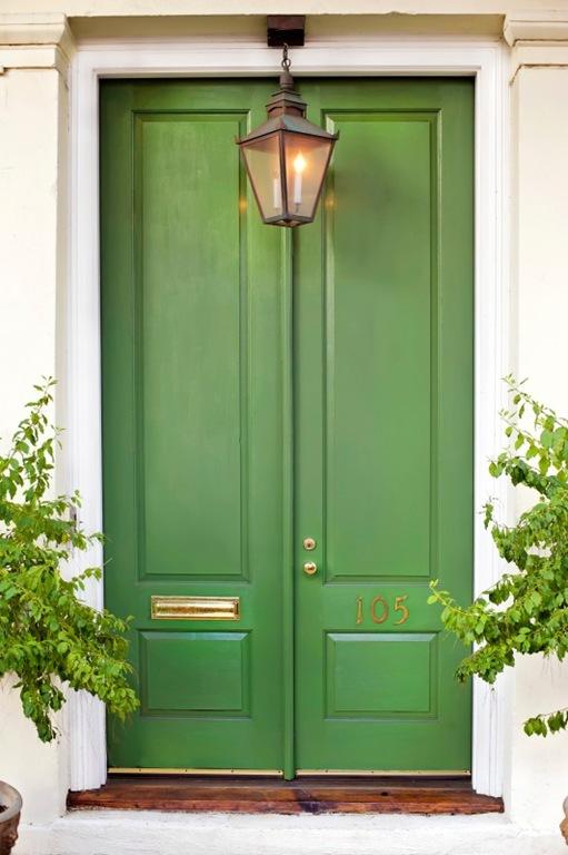 Bold Green Decor