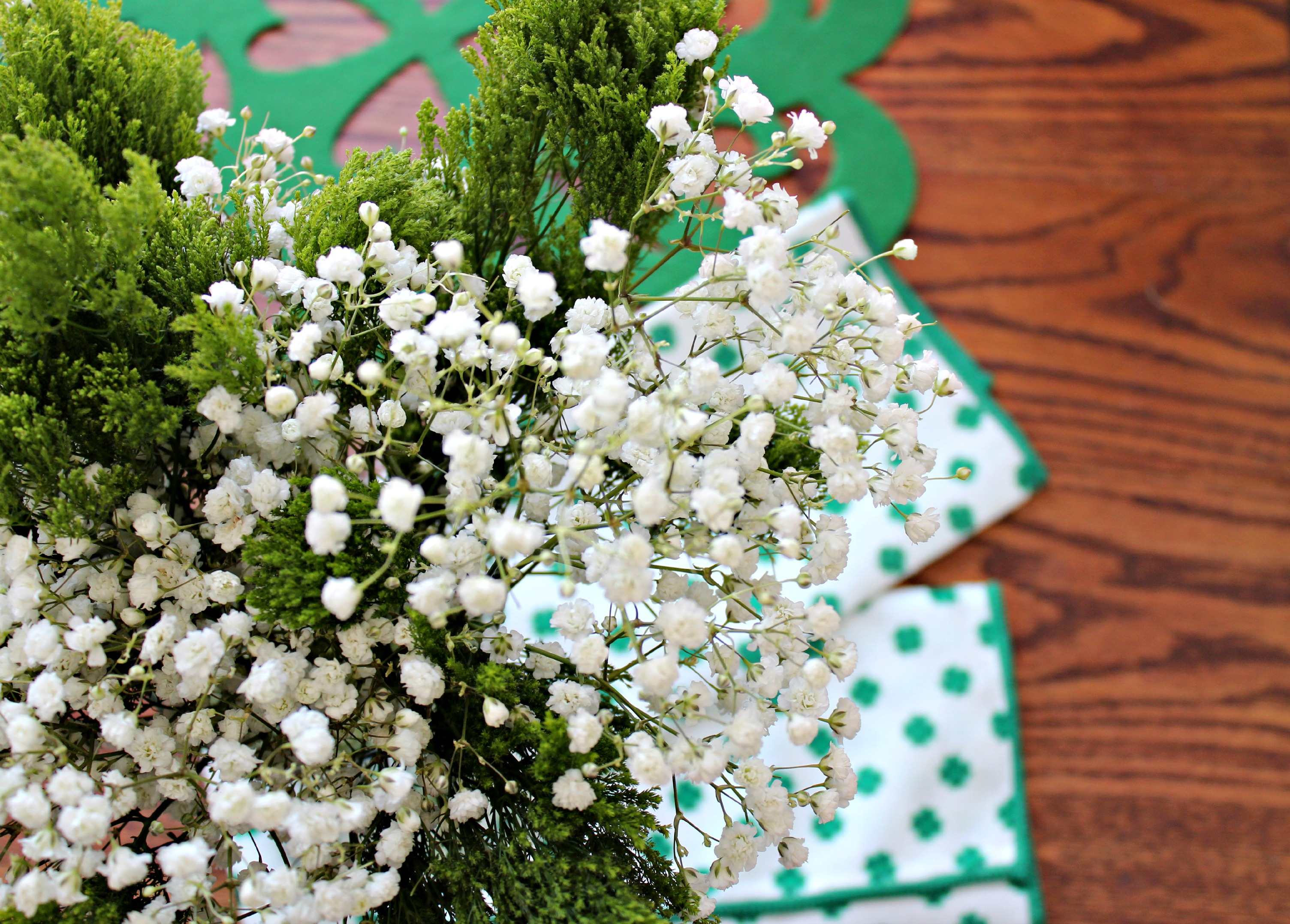Table Decorations for St. Patrick's Day