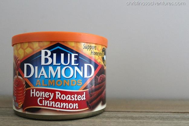 Blue Diamond Honey Roasted Cinnamon Almonds