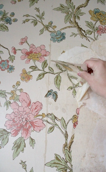 removing wallpaper from plaster walls