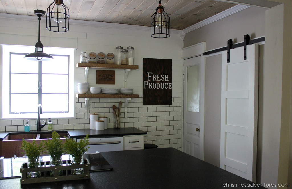 Finest DIY Farmhouse Kitchen Makeover: All the Details - Christinas  KN17