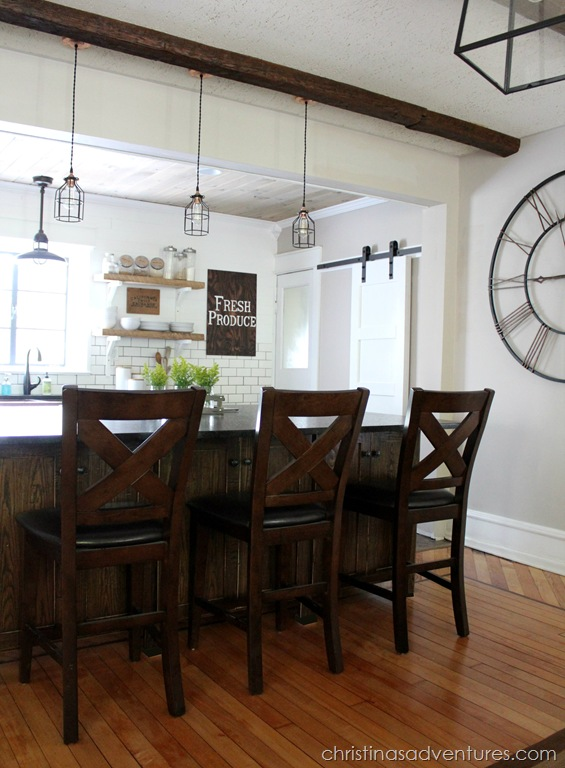 exceptional Free Kitchen Remodel Contest #10: DIY Farmhouse Kitchen Makeover: All The Details Christinas .