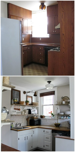 Craftsman Kitchen Before & After