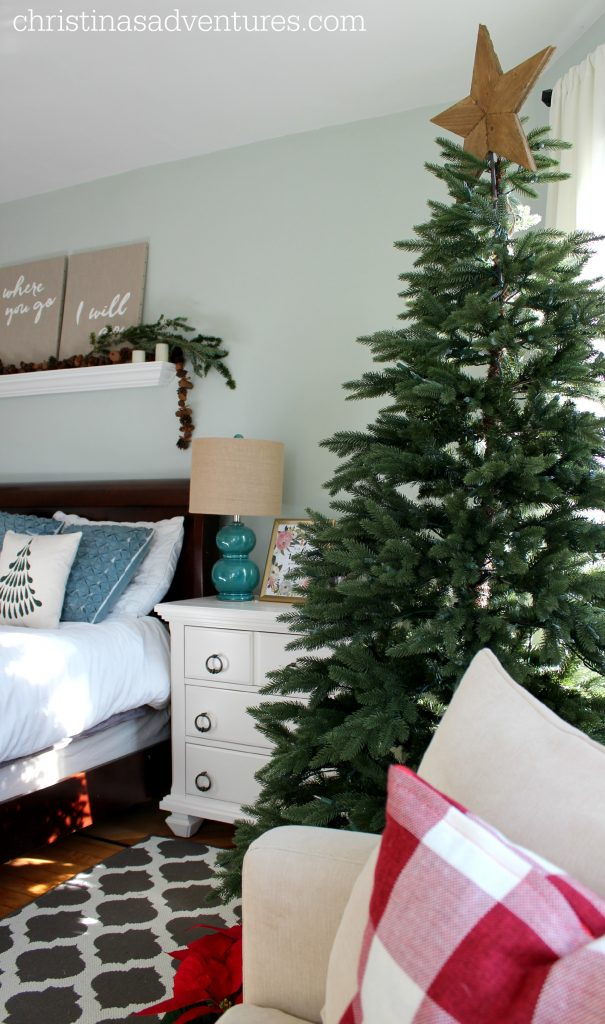 Bedroom Christmas Tree Christinas Adventures