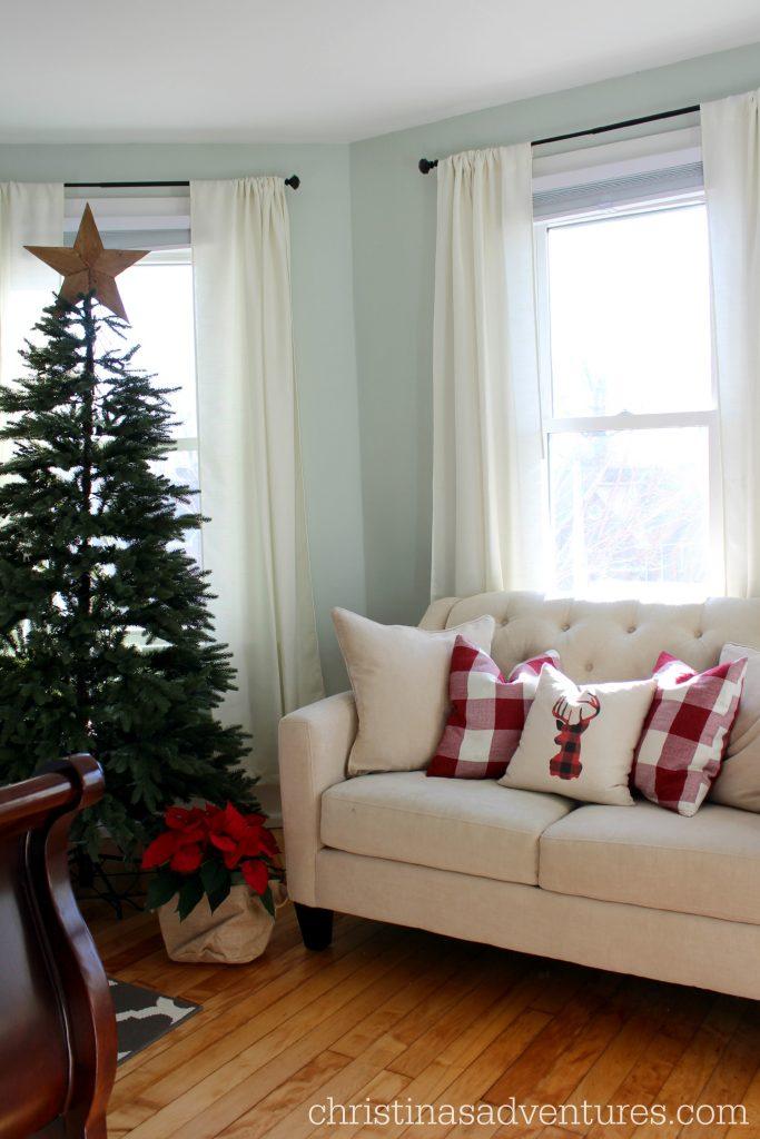 Cozy Christmas bedroom Christinas Adventures
