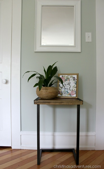 End table bedroom