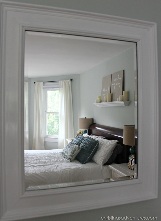 Master Bedroom Mirror master bedroom makeover - christinas adventures
