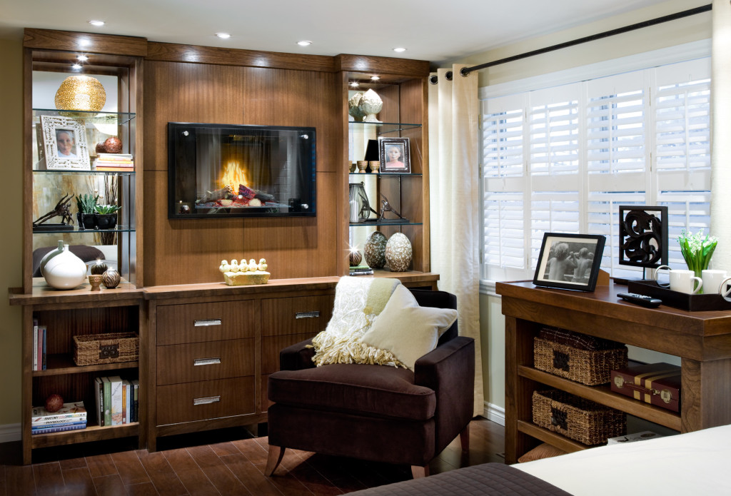 Bedroom tips from candice olson from - Candice olson fireplaces ...