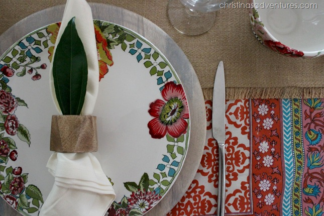Colorful table setting CPWM