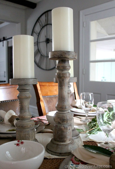 Dining Table Candle Holders CPWM