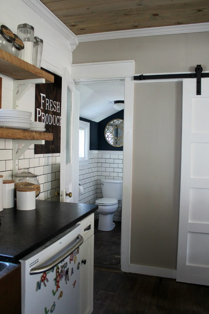 Small-bathroom-off-of-farmhouse-kitchen 12