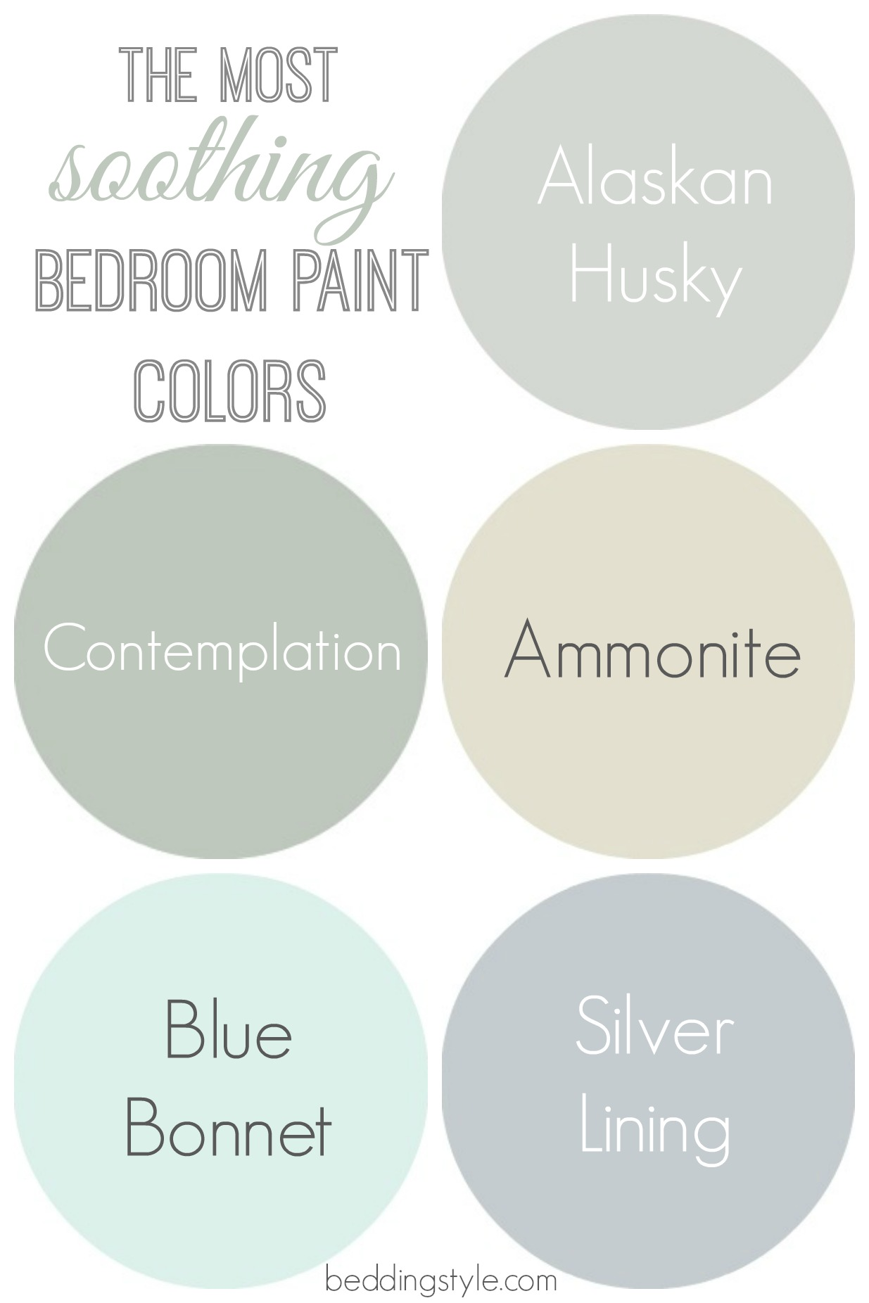 How to decide on bedroom paint colors from - Most popular bedroom paint colors ...