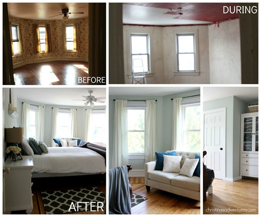 Before and After Bedroom Makeover