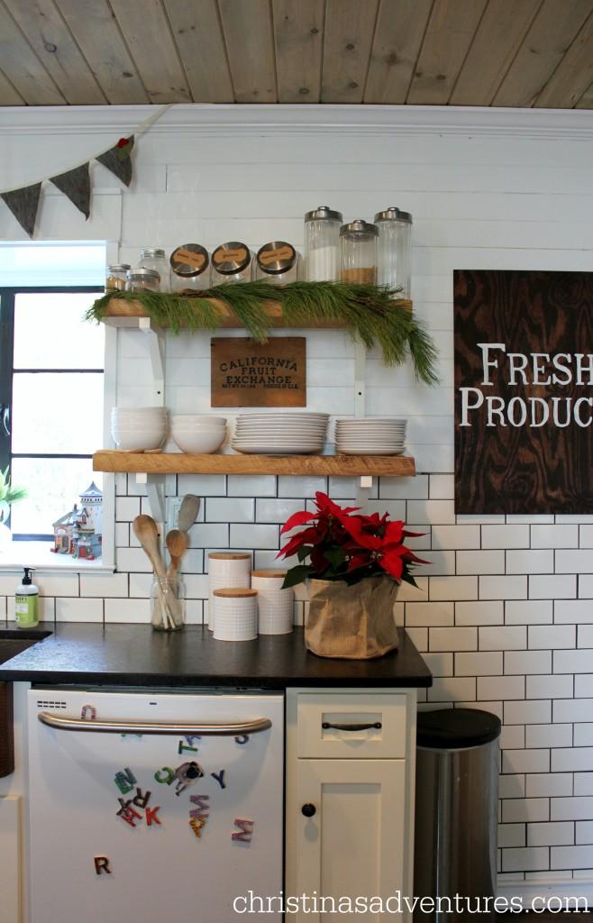 Victorian Christmas Kitchen Tour