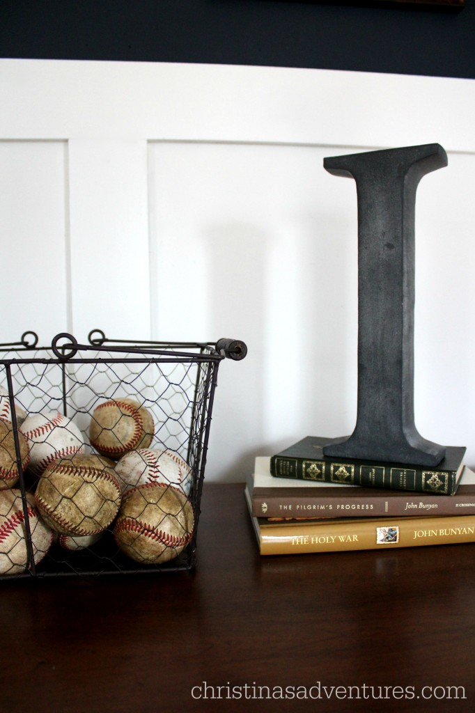 Old baseball boys bedroom decoration Christinas Adventures