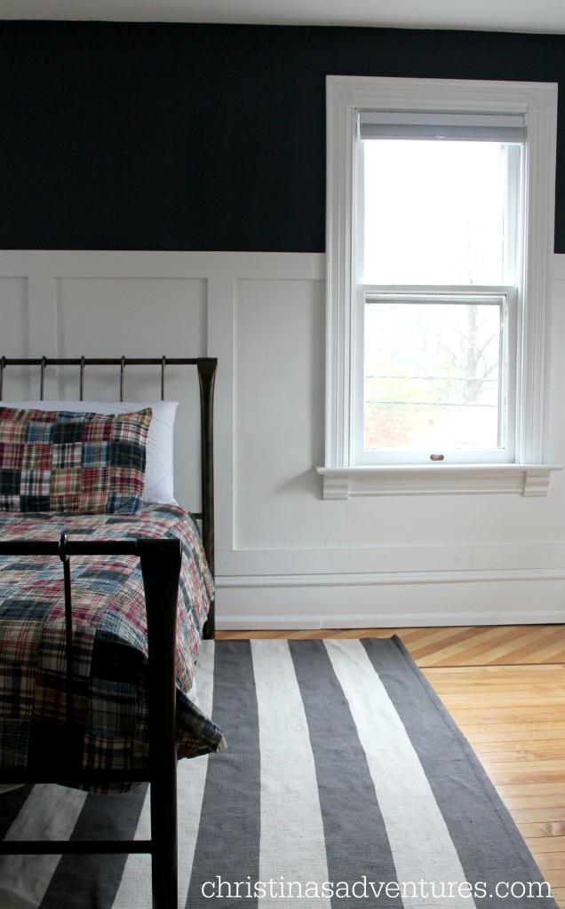 Plaid and stripes boys bedroom christinas adventures