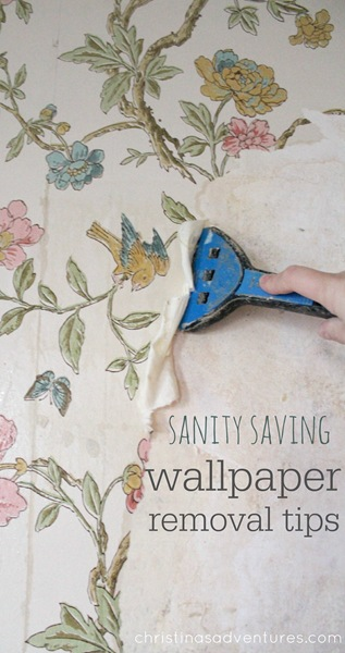Sanity Saving Wallpaper Removal Tips