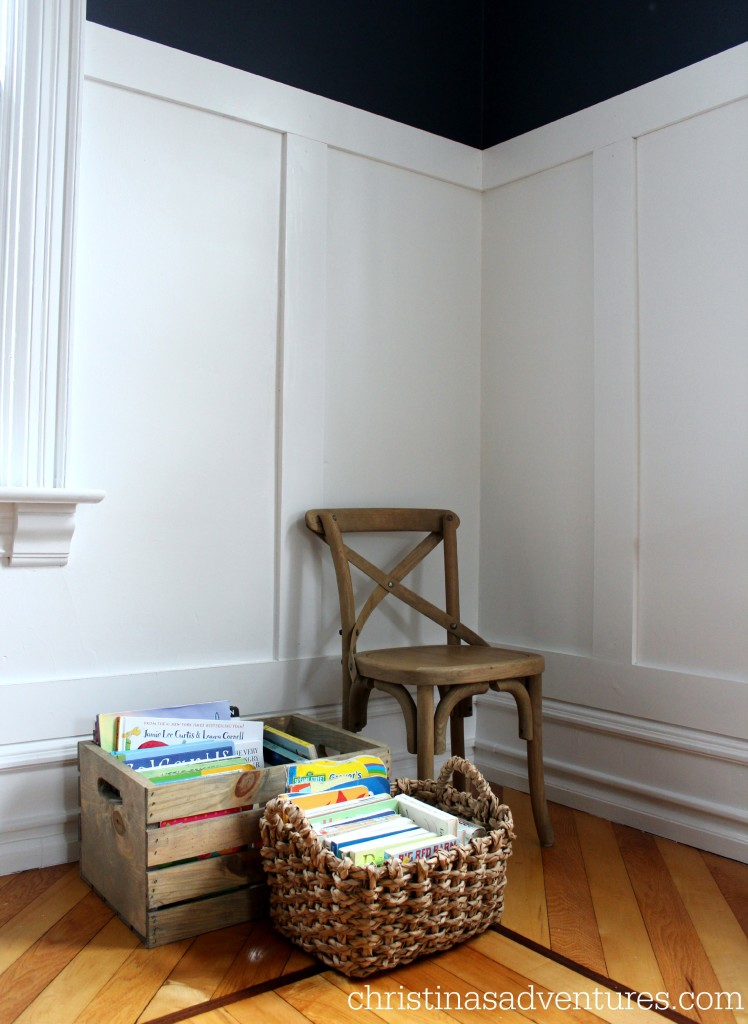 minimal kids reading corner christinas adventures