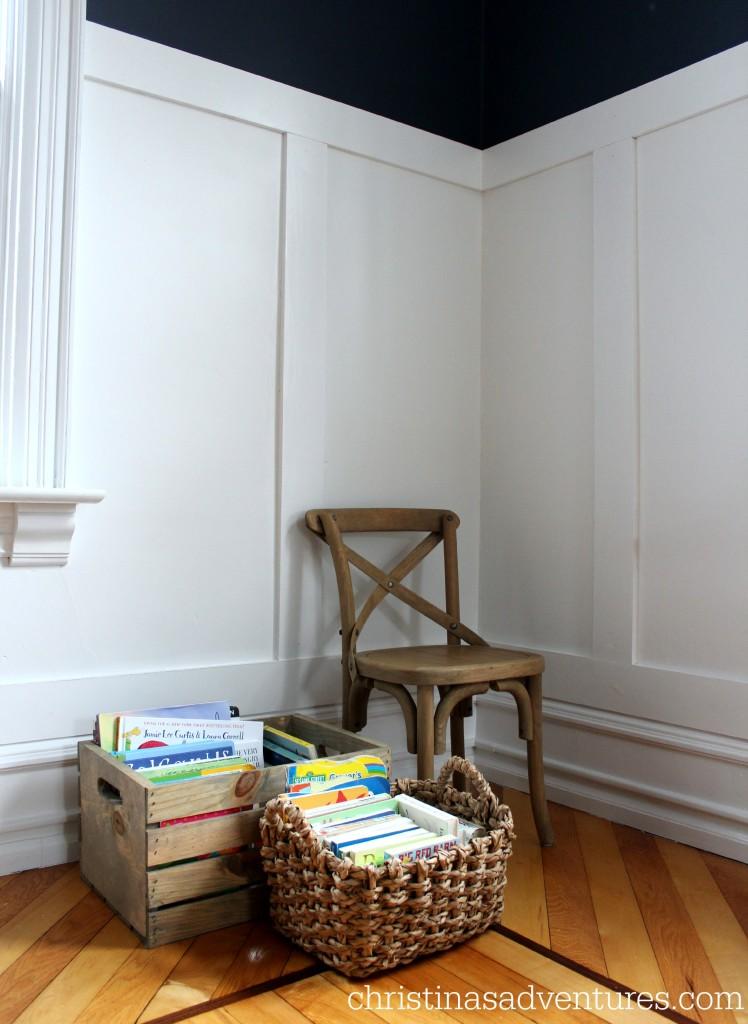 minimal kids reading corner christinas adventures