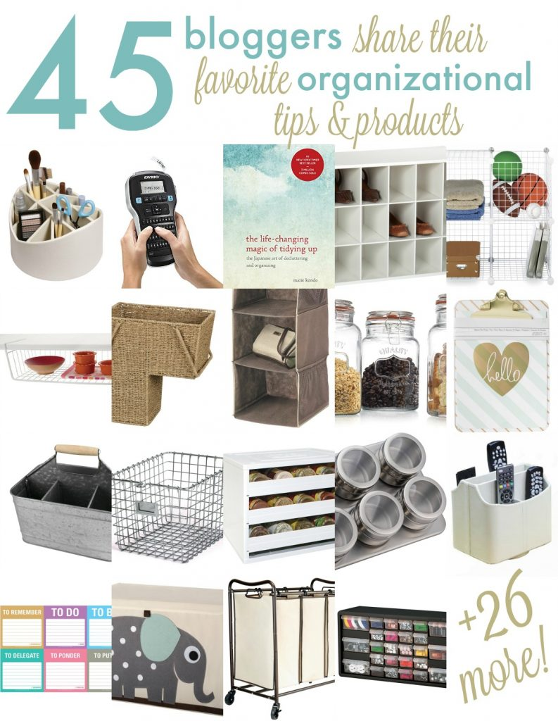 45 bloggers share their favorite ways to organize + a $375 Amazon gift card giveaway!