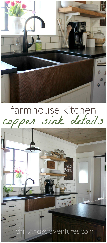 Farmhouse Copper Sink