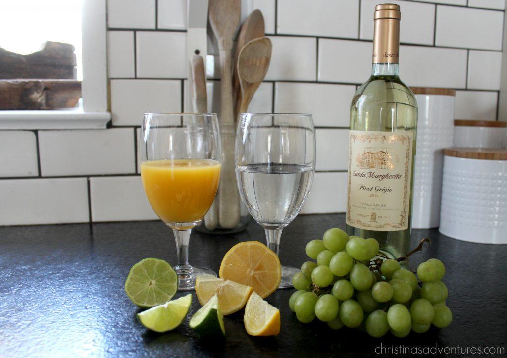 Sunday Brunch Drink Recipe Mimosa Sangria Christinas