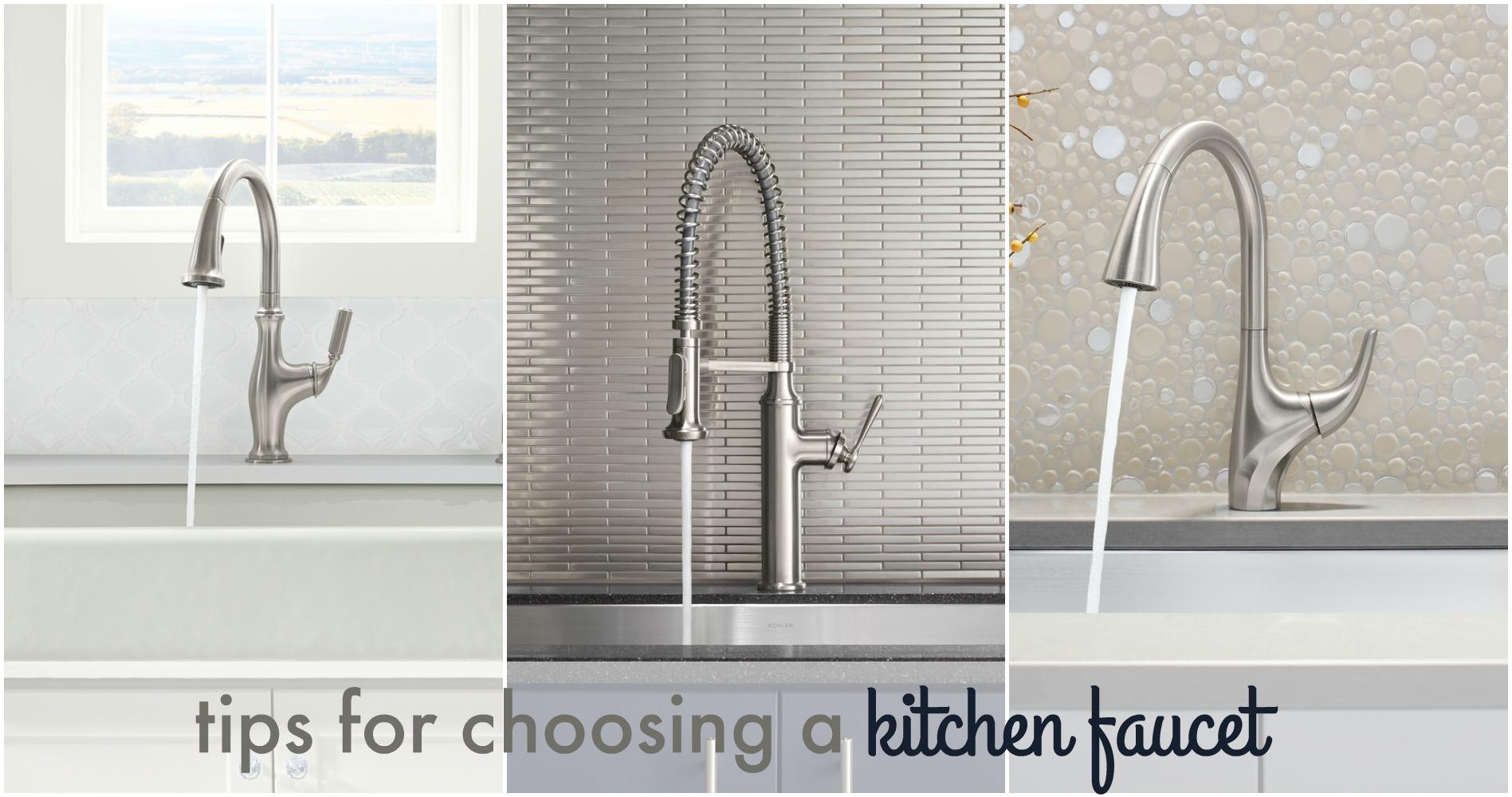 Choosing a Kitchen Faucet