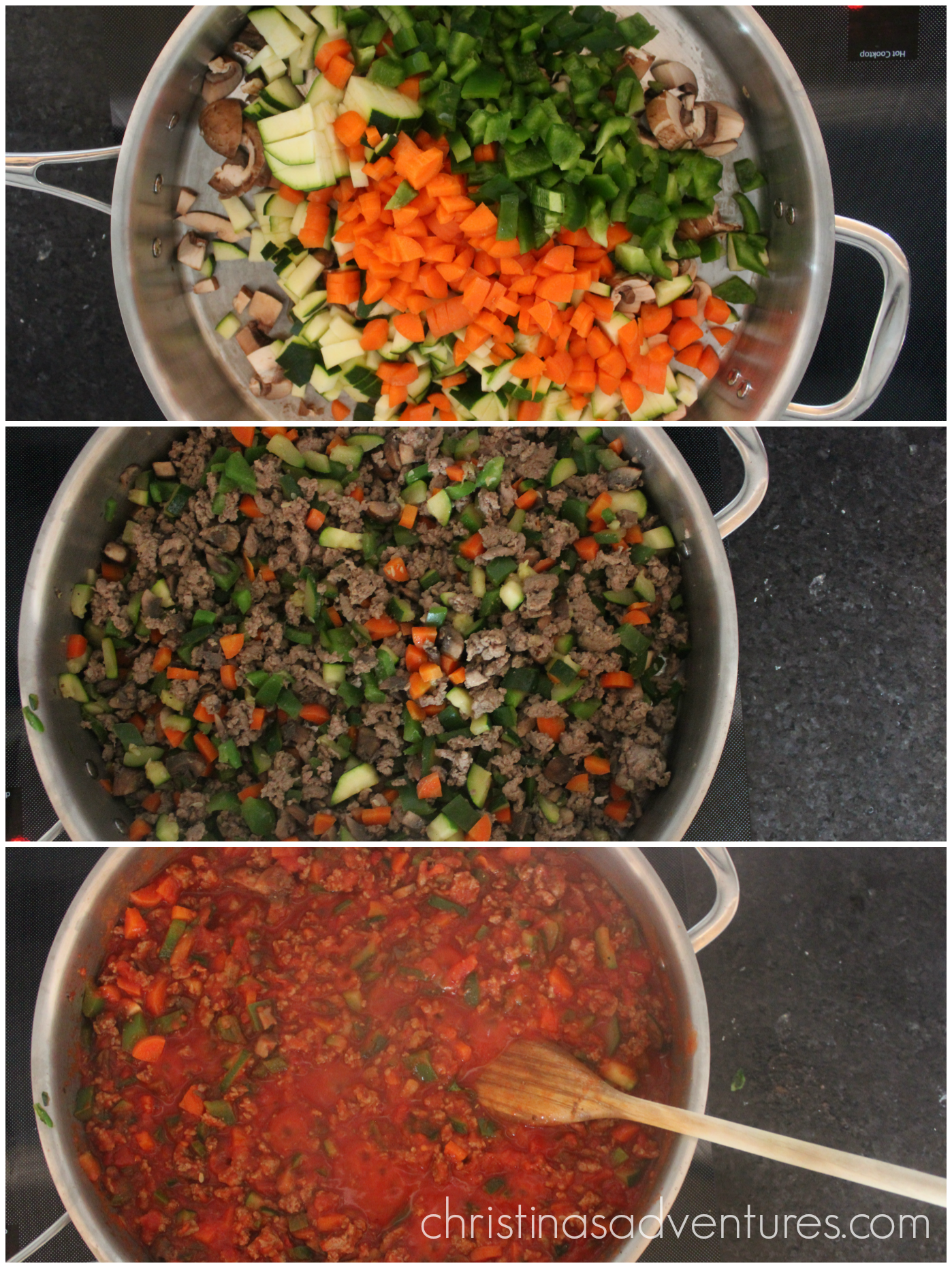 Veggie-Packed Tomato Sauce