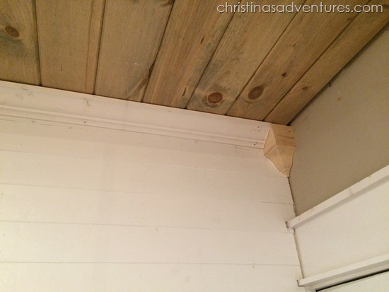 how to build a wood ceiling