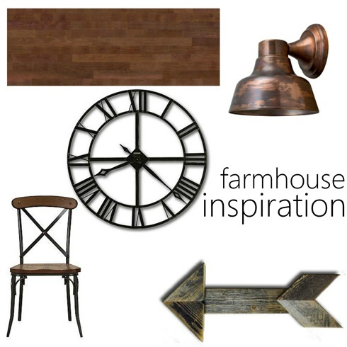 farmhouse inspiration copper wood