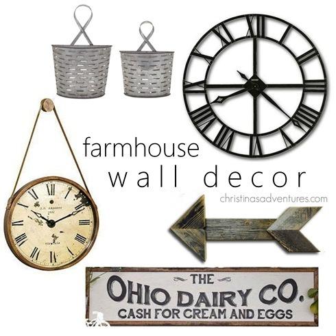 farmhouse wall decor