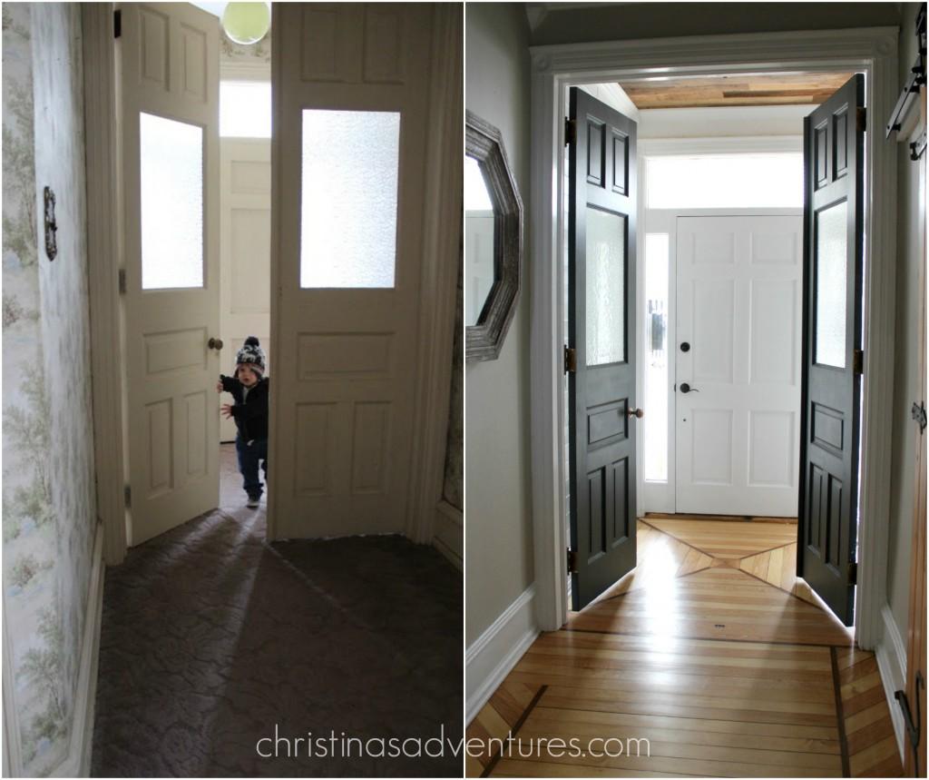 Victorian Hallway On Pinterest: Victorian Farmhouse Entryway And Hallway
