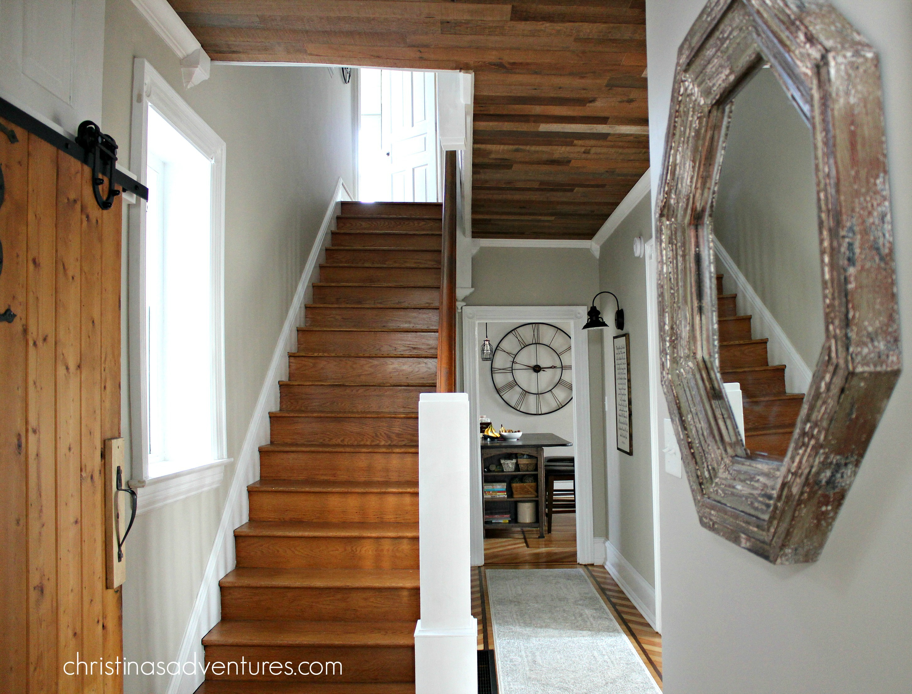 Victorian Foyer Ideas : Victorian farmhouse entryway and hallway christinas