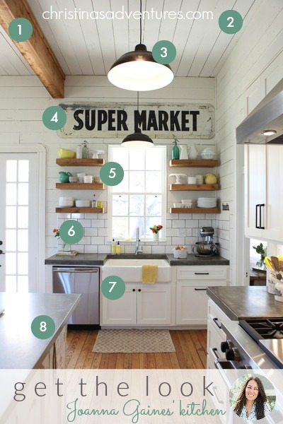 Get the Look Joanna Gaines Kitchen