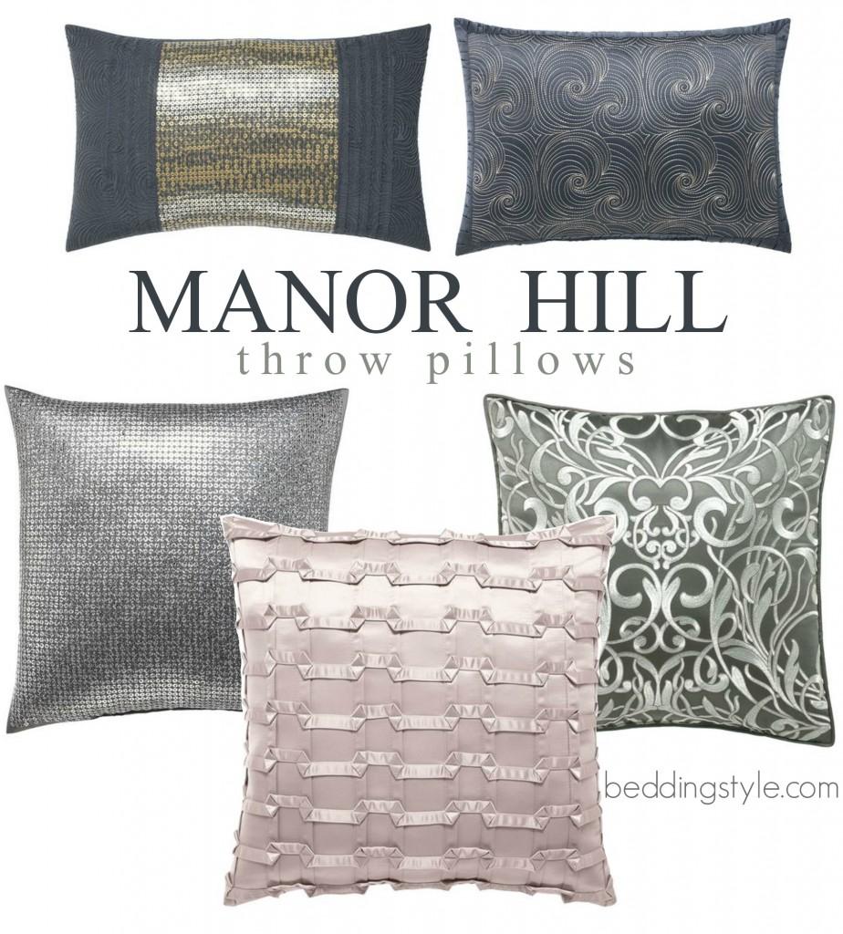 Throw Pillows Spotlight : Manor Hill Bedding Spotlight 2016 - Beddingstyle.com
