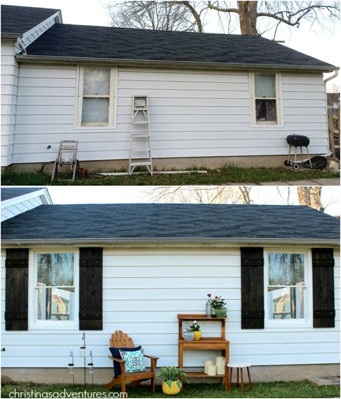 outdoor makeover
