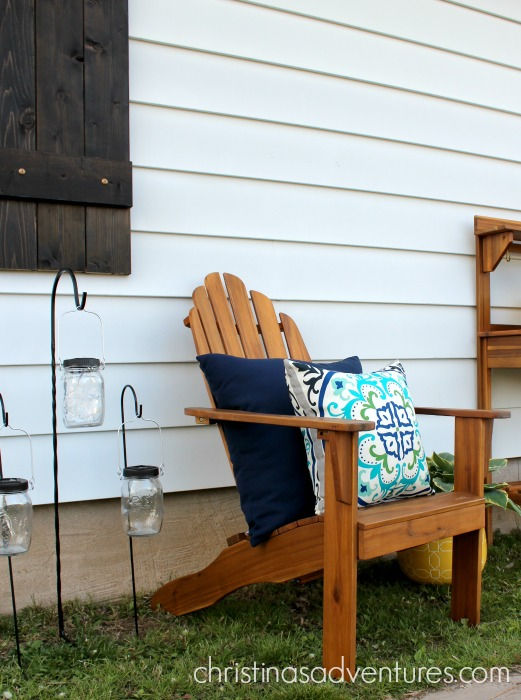 Outdoor Makeover: simple & budget-friendly