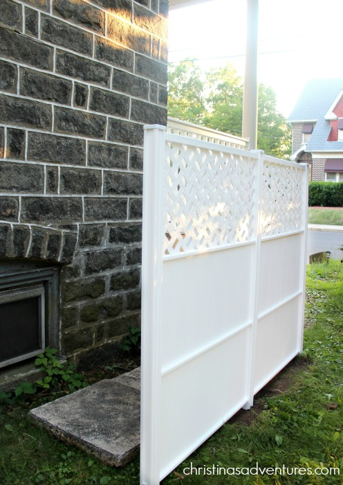 Vinyl Privacy Screen